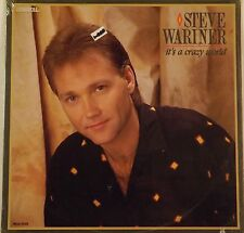"Steve Wariner ""It's A Crazy Wolrd LP Record 1987 NEW Still Sealed!"