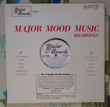 Major Library Music LP #6009 Anthony Bridges Max Marlin George Chase S. Spence