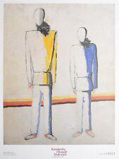 Kasimir Malewitsch Due contadini Poster Kunstdruck Bild 80x60cm