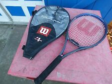 raquette de tennis  Wilson Tour Pro 27 avec housse L 3 4 3/8