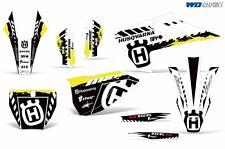Husqvarna TC 125 FC 250/350/450 Graphic Kit Bike Decal MX Wrap 2016-2017 WRECKED