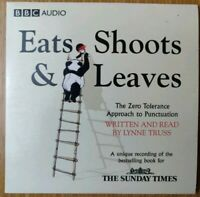 Eats Shoots & Leaves Sunday Times Promo CD BBC Audio Book Promotional Disc