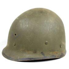 ORIGNAL WWII ERA US M1 HELMET LINER W/ OD3 COTTON SUSPENSIONS FIRESTONE F IDED