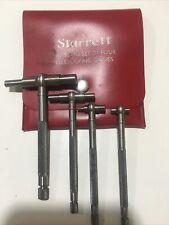 Starrett S579g Set Of 4 Telescoping Gages