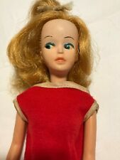 Vintage Tressy Doll American Character Growing Hair Red Dress