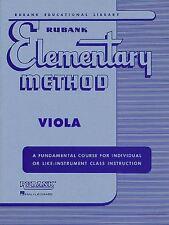 Rubank Elementary Method - Viola edited by Sylvan D. Ward, 4470140