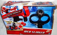 Amazing Spiderman 2 NERF Web Slinger MIB Marvel Roleplaying Toy Stretch & Fire!