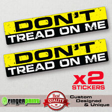 DON'T TREAD ON ME car sticker decal jdm bumper bike window 4x4 LAPTOP DRIFT JEEP