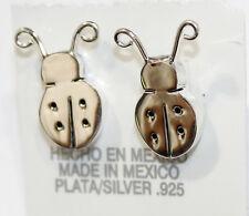 Ladybug Stud Earrnig .925 Sterling Silver Earring - Ladybug Earring - Mexico