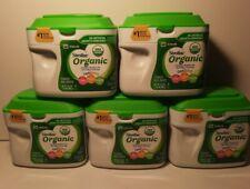 Similac Organic Powder Infant Formula (5) 23.2 oz Optigro 0-12 Non-Gmo 6/1/21