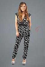 V-Neck Animal Print Long Sleeve Dresses for Women