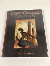 DINOSAUR DISCOVERIES by WILLIAM STOUT. Signed and Numbered 104