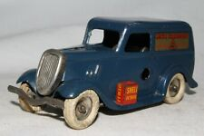 Triang Minic Tin Windup 1930's Ford Light Delivery Van Truck, Blue, Original
