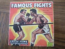 FAMOUS FIGHTS - GREAT LIGHTWEIGHT BOUTS - CASTLE FILMS - No. 3015
