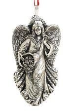 2013 Reed Barton Sterling Silver 11th Annual Angel Gloria Xmas Ornament Pendant