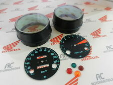 Honda CB 750 Four K0 Gauge Covers Face Plates Pilot Lamps Speedometer Tacho KMH