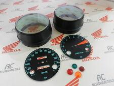 Honda CB 750 Four K0 Gauge Covers Face Plates Pilot Lamps Speedometer Kmh