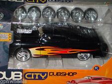 JADA DUB CITY 1951 51 MERC CUSTOM BUILD IT KIT -Black w/Flames, 1/24 NICE!