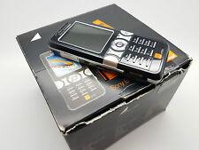 (Naranja Red) En Caja Sony Ericsson Cyber-shot K550i Jet Negro Teléfono Móvil
