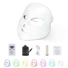 7 Colors Led Light Photon Face Mask Therapy Rejuvenation Skin Light Therapy Mask