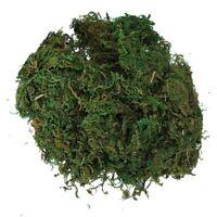Green Artificial Reindeer Moss For Lining Plant Flower Garland Decor M8G1