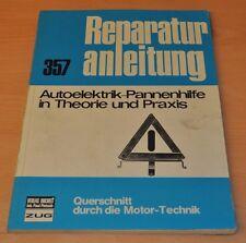 Autoelektrik Pannenhilfe Theorie Praxis Querschnitt Buch Reparaturanleitung B357