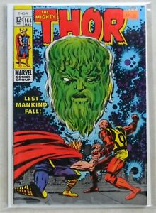 Thor #164 (1969, Marvel) 7.0 FN/VF OW/WHITE PAGES 1st Him/Warlock CGC IT!