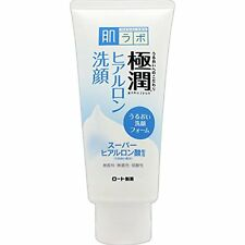 Rohto Hadalabo Gokujyun Hyaluronic Face Wash Foam 100g import Japan free posting