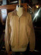 Very Cool ORVIS Wool/Suede Leather Varsity Jacket