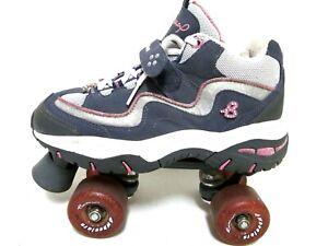 Britney Spears Skechers 4 Wheelers Roller Skates Womens Size 6 Red White Blue