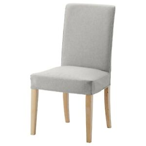 Ikea HENRIKSDAL Chair Cover/Slipcover ORRSTA LIGHT GRAY from floor model chair