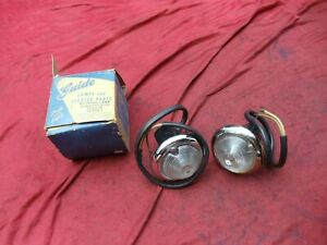 NOS 1949 - 1952 GM Buick Pontiac Chevy BACK UP LIGHTS GUIDE B-29 F-45
