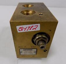 VICKERS HYDRAULIC CONTROL VALVE MCD-2465A