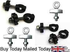 "BMX Fixie Bike Chain Tugs Tensioners Adjusters for 10mm 14mm 3/8"" Bicycle Axles"
