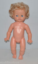 "vintage RELIABLE 13"" tall BABY DOLL 1960s CANADA -rj"