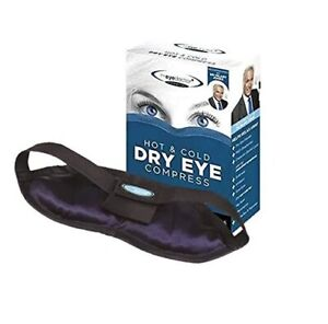 The Eye Doctor Essential Hot & Cold Dry Eye Compress Heat Bag -Sore Gritty Eyes
