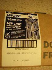 2- STI BLAZESTOP FIRESTOP WF320 Intumescent Firestop Fire Caulk 12PK (HILTI)#30