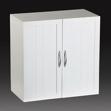 "Kitchen/Bathroom/Laundry Wall Mount Cabinet, White, 23""x23"""