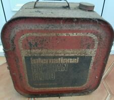 Vintage International Harvester Co Oil Can Agricultural Machinery Farm Tractor