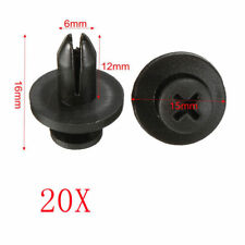20 pcs Car Plastic Rivet Fastener Mud Flaps Bumper Fender Push Clips For Toyota