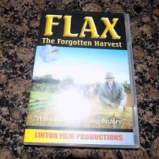 DVD FLAX THE FORGOTTEN HARVEST  LINTON FILM PRODUCTIONS USED
