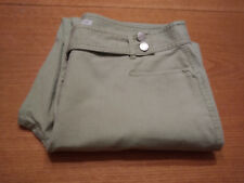 Women's Villager Size L Large 14 Light Green Stretch Washable Jeans Inseam 32!!