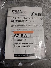 Fuji Electric  Power Connection for reversing SZ-RW3 yellow