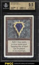 1993 Magic The Gathering MTG Unlimited Mox Sapphire R A BGS 9.5 GEM MINT (PWCC)