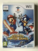Mario & Sonic at the Olympic Winter Games (Nintendo Wii) (New And Sealed)