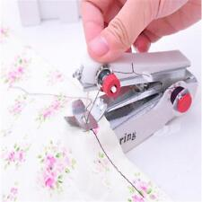Mini Portable Handheld Cordless Sewing Machine Hand Held Stitch Home Clothes AW