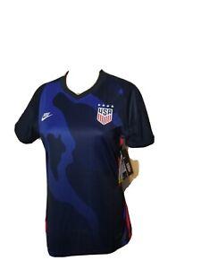 Nike Team USA Jersey Soccer Football USWNT Olympics DriFit NWT Blue Womens Med.