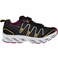 CMP Girl Running Sports Shoes Kids Altak Trail Shoe 2.0 Black Plain Colour