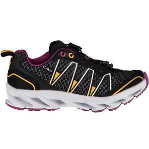 CMP Girl Running Sports Shoes Kids Altak Trail Shoe 2.0 Black Plain Colour