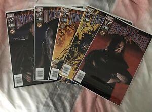 Lot of 5 1999-2000 Chaos Comics WWF Undertaker Comic Books Photo & Art Covers
